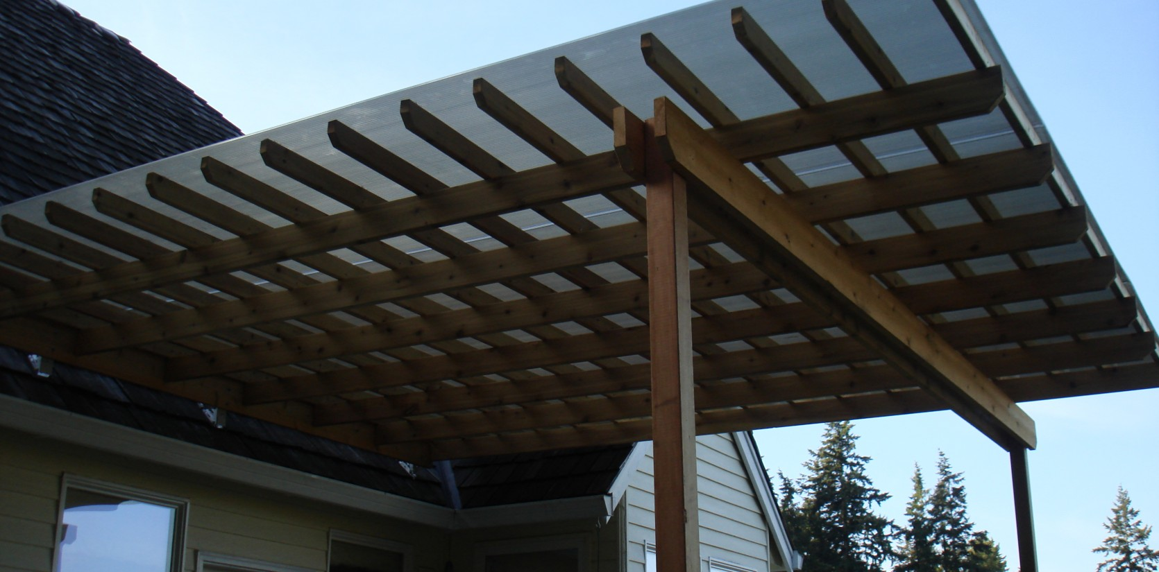 Overhangs By Three Rivers Custom Decks Portland Or
