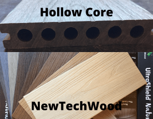 NewTech Wood end cut and colours