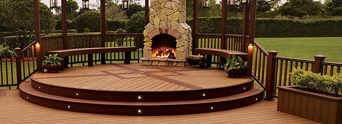 Modern Drop Lighting Best Six Quality Composite Decking Comparisons - Sequoia