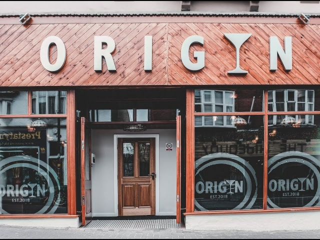 Origin Gin Bar Promo Video Prestatyn Declan West Photography
