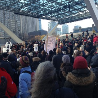 Torontonians protest Rob Ford