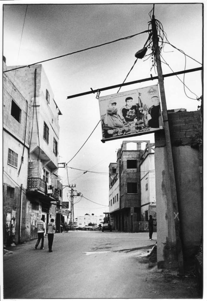 Jénine, Palestine, noir et blanc, argentique, Devals