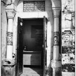 Tour du carillon, Naplouse, Palestine, photo noir et blanc, Jean-Pierre Devals