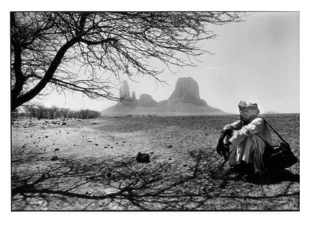 Vue sur la Main de Fatma - Mali - photographie argentique - Jean-Pierre Devals