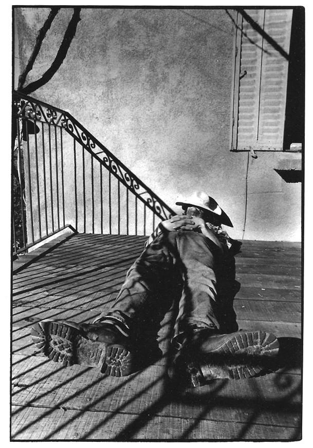 La sieste, Aveyron, photographies argentiques, Devals