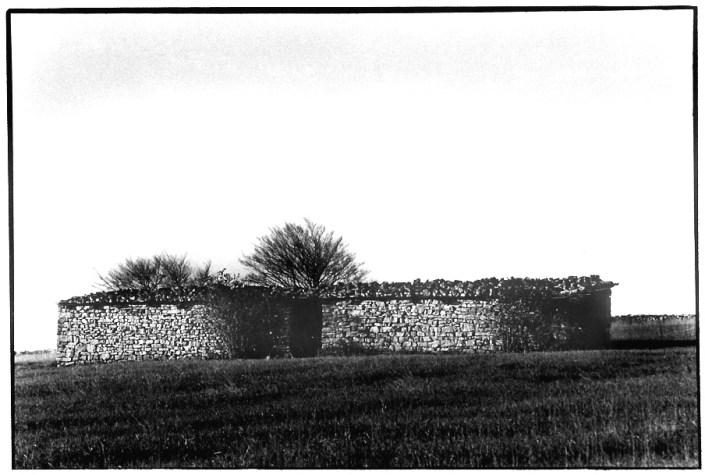 Bergerie, Aveyron, prise de vue argentique, JP Devals