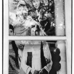 Vitrine, Indonésie, clichés noir et blanc