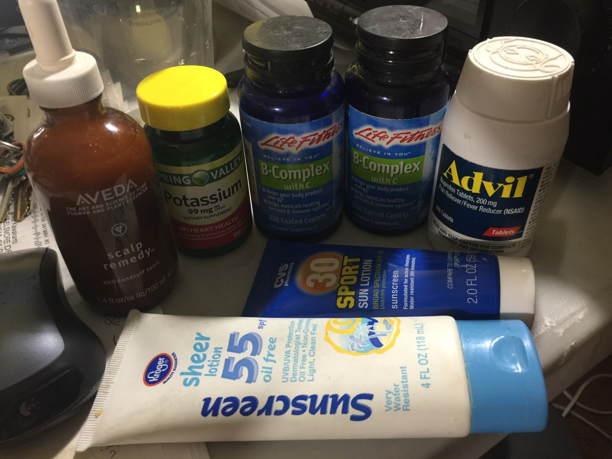 Decluttering Vitamins and Drugs