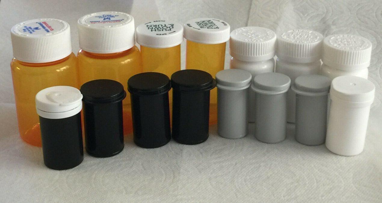 Selling Amber Pill Bottles on eBay