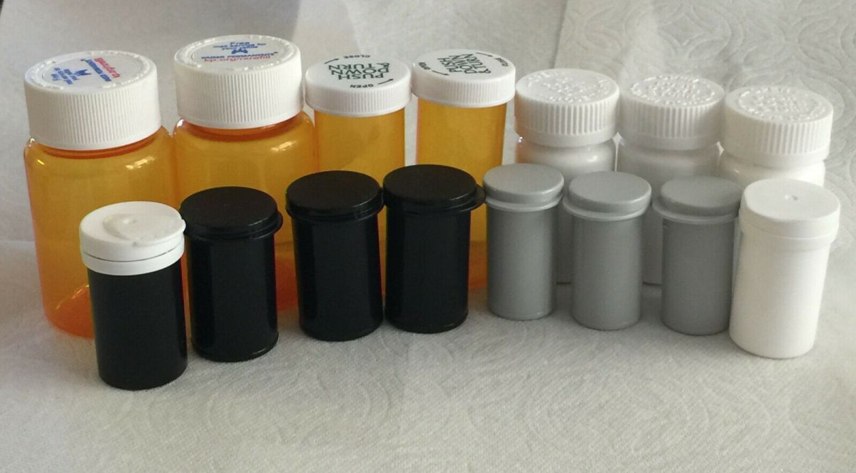 Selling Amber Pill Bottles on eBay