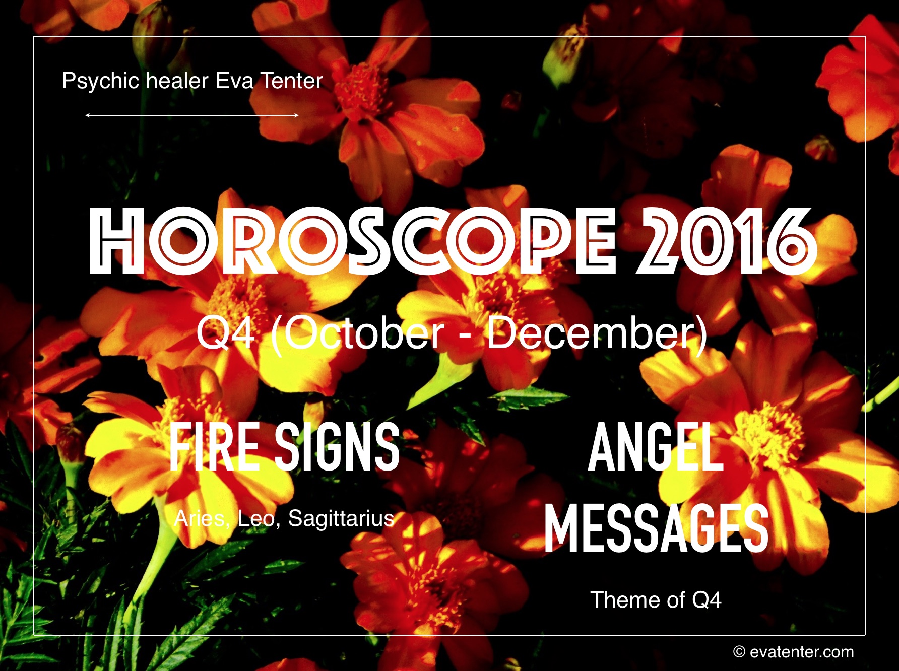 Horoscope 2016 October-December – Fire Signs #horoscopes