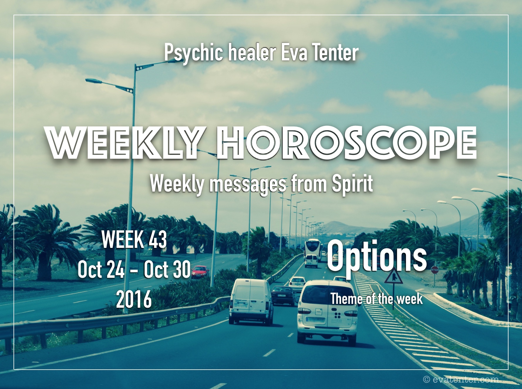 Weekly horoscope October 24-30, 2016 #horoscopes