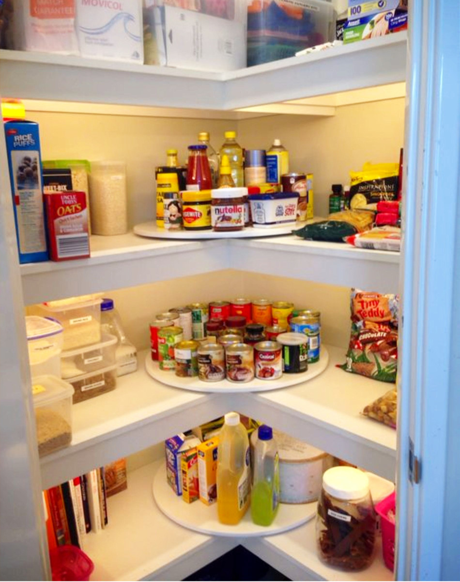 kitchen pantry organizers compact kitchens declutter your organize in 3 simple steps love the idea to use a lazy susan corners of great