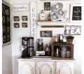 Diy Coffee Bar Ideas Stunning Farmhouse Style Beverage Stations For Small Spaces And Tiny Kitchens Decluttering Your Life