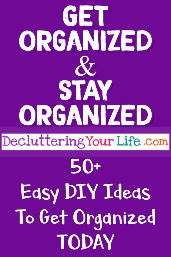 Best organizing ideas on Pinterest! Get organized! #organizationideasforthehome #gettingorganized #organizingideas #organizationtips #getorganized #lifehacks #diyhomedecor
