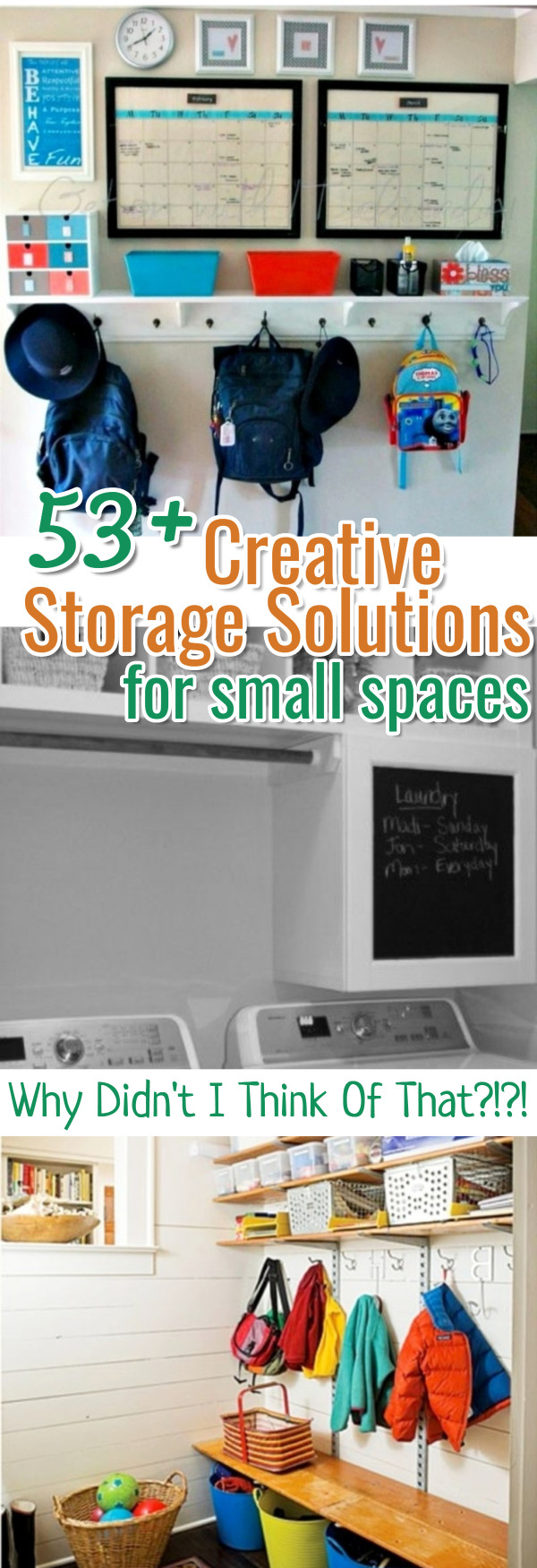 Creative storage solutions for small spaces - Clever storage solutions small spaces style ...
