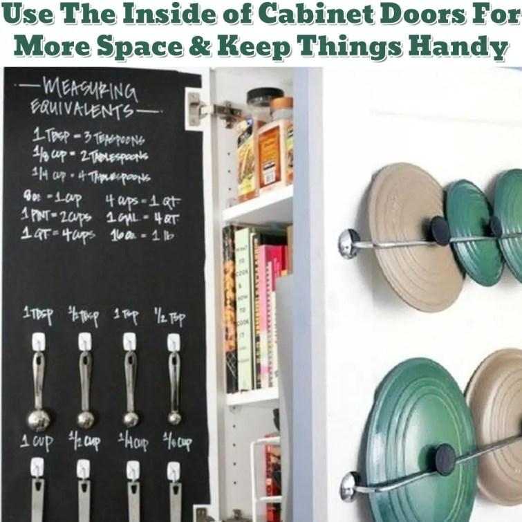 Kitchen cabinet organization ideas - Getting Organized - 50+ Easy DIY organization Ideas To Help Get Organized