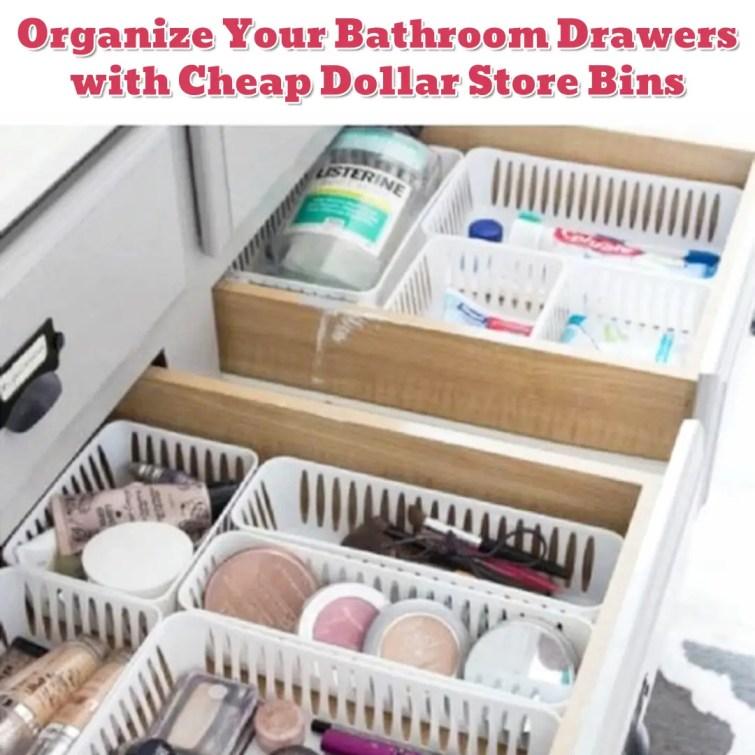 Makeup drawer organization - Getting Organized - 50+ Easy DIY organization Ideas To Help Get Organized