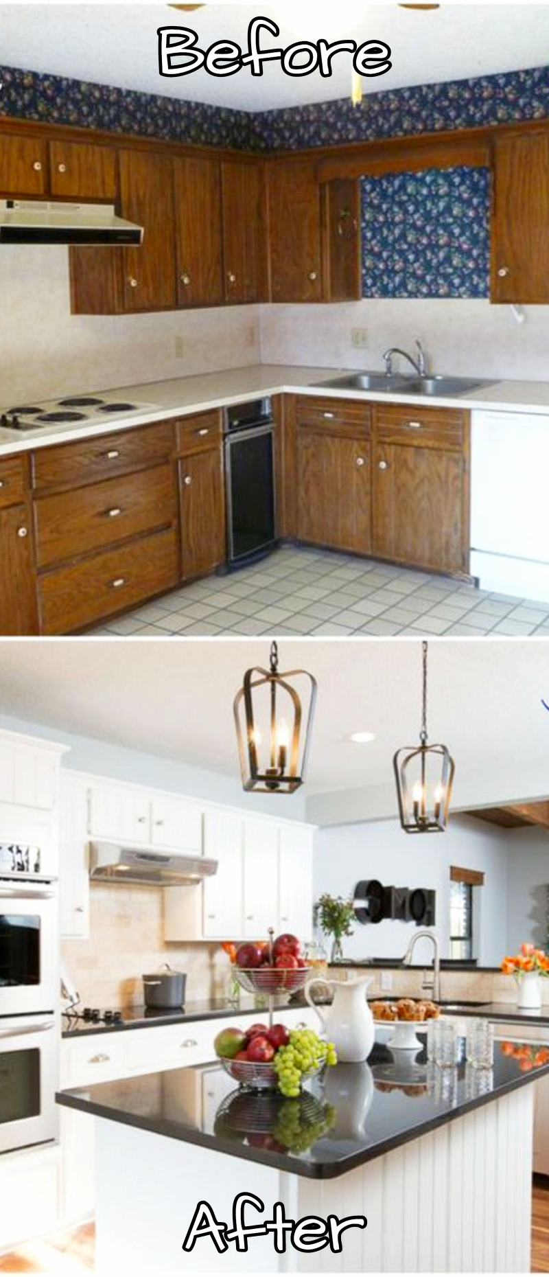 tiny kitchen remodel inexpensive countertops small remodels before and after pictures to drool over makeovers kitchens ideas kitchenideas