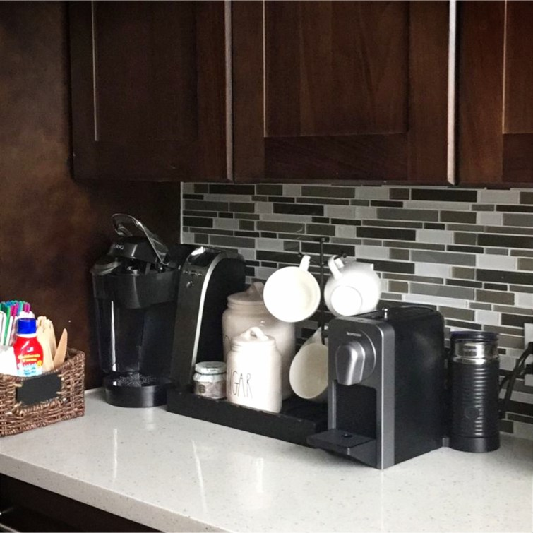 Cute coffee area ideas for the kitchen