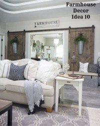 {Farmhouse Decor!} Clean, Crisp & Organized Farmhouse