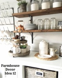 {Farmhouse Decor!} Clean, Crisp & Organized Farmhouse