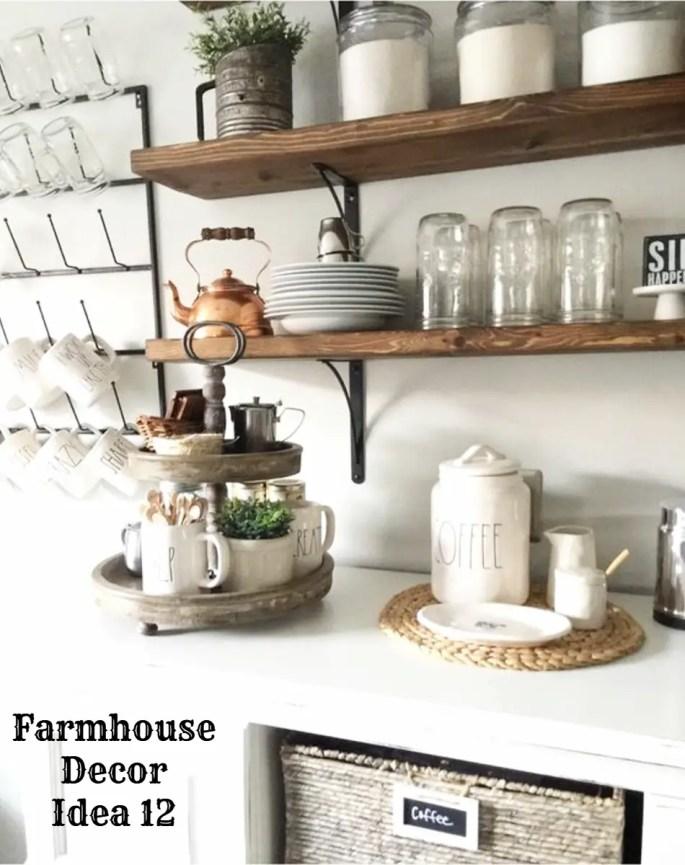 Farmhouse Style!} Clean, Crisp & Organized Farmhouse Decor Ideas ...