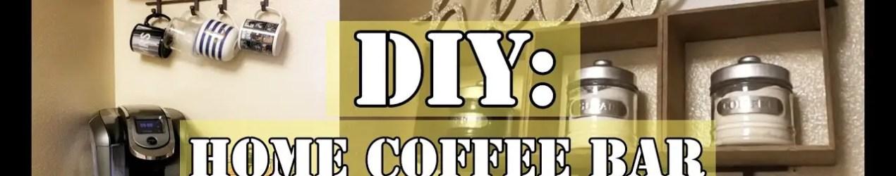 Kitchen Coffee Bars – 30+ DIY Kitchen Coffee Area Ideas