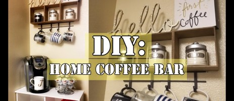 Kitchen coffee area ideas - DIY coffee area set up ideas for small kitchens