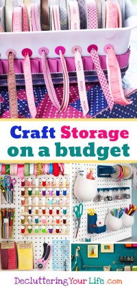 DIY Craftroom Organization - Unexpected & Creative Ways to ...