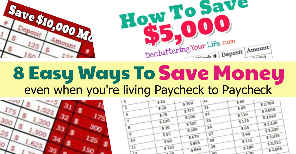 money saving challenge ideas
