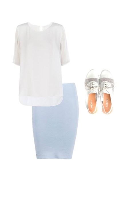 Silk tee: Skin and Threads' Shoes: Midas
