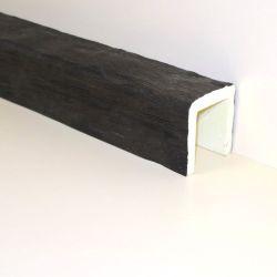 Декоративная балка Кантри 120х120 Рустик - 1.2 метра, Белый