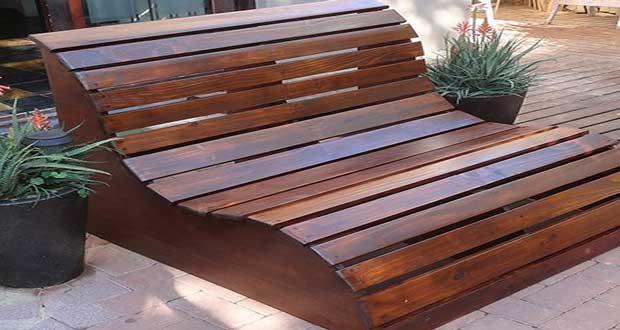 Fabriquer Un Banc De Jardin En Bois à Vernir Ou à Peindre