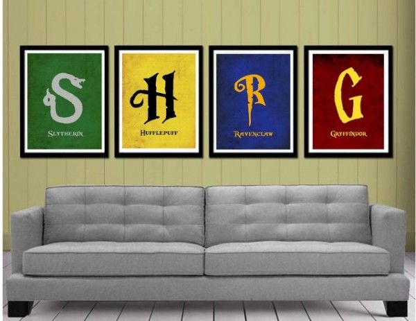 exemple stickers muraux harry potter