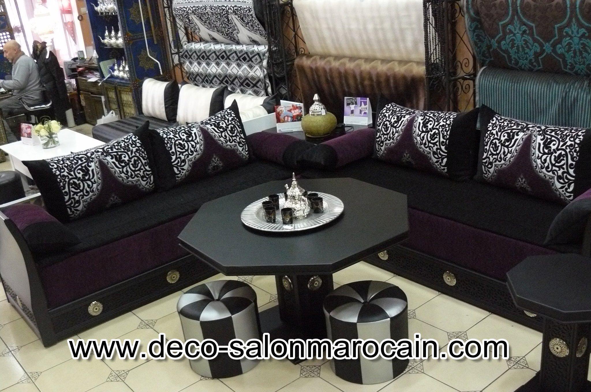 Salon Marocain Moderne 2015 | Decoration Salon Marocain Moderne ...