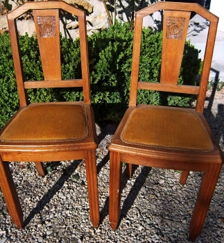 Relooker des chaises annes 1940
