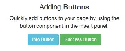 ボタンやフォームなどのデザインが楽ちん