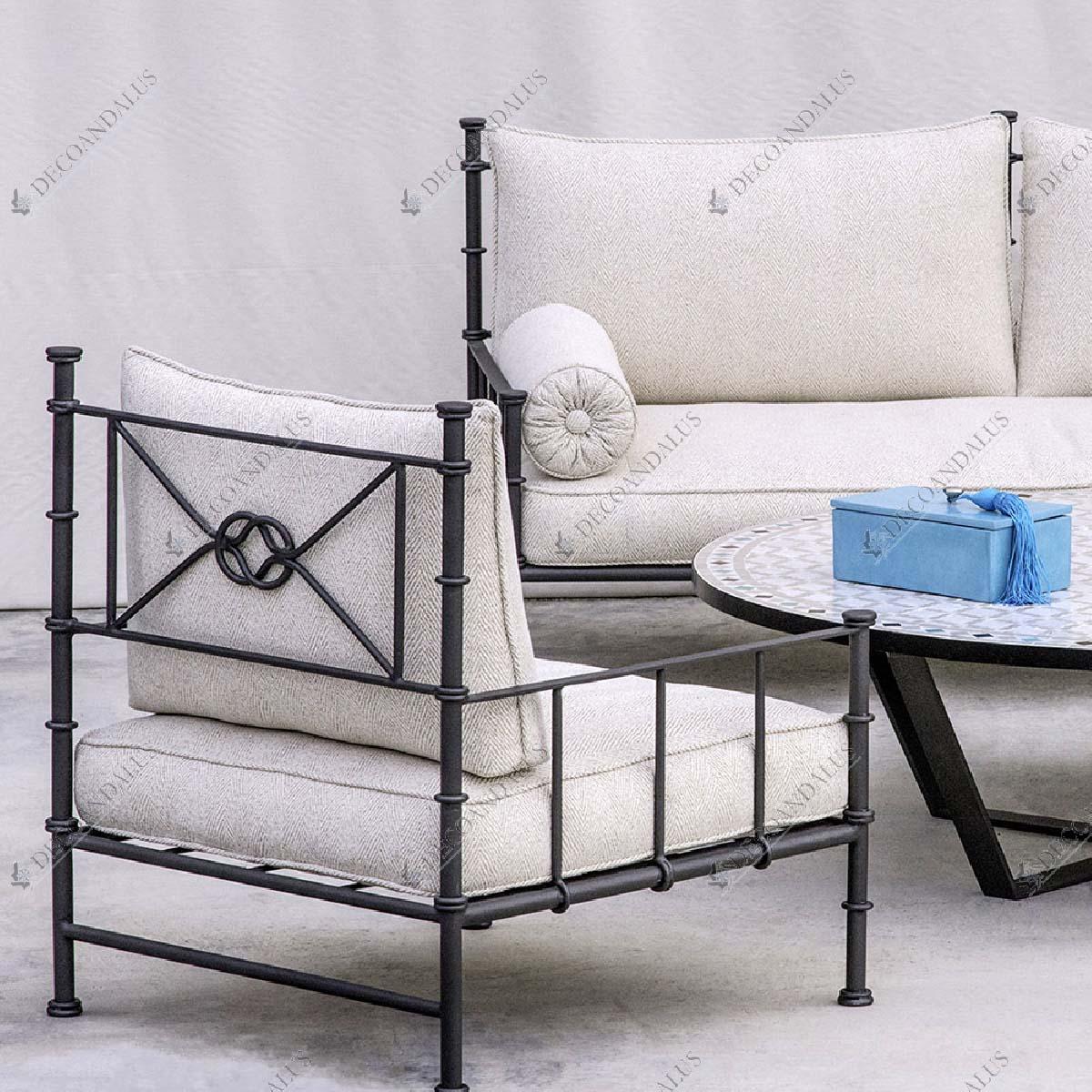 cama sofa forja apartment length sofá si so 33 decoandalus