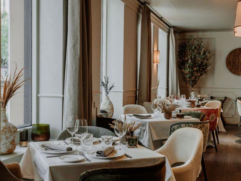 Restaurante Prístino, decorado por MRC Lab Design