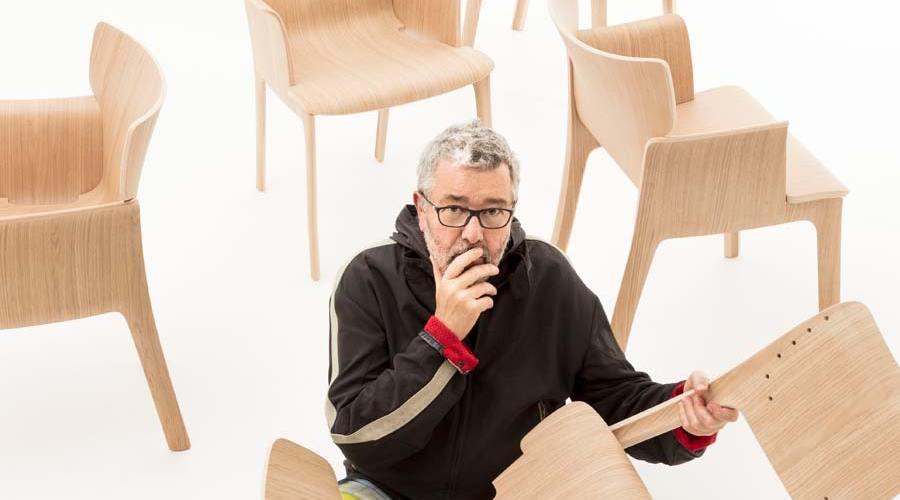 Silla de comedor diseñadas por Philippe Starck para Andreu World