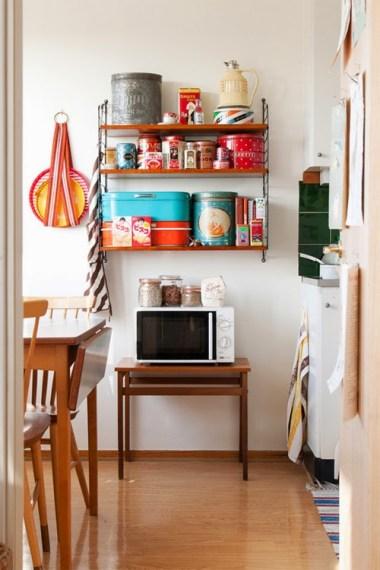 estanteria vintage cocina