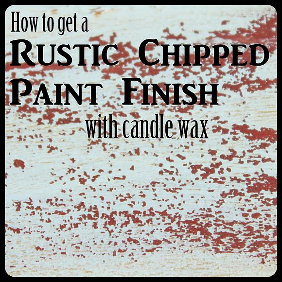 DecoArt Blog  DIY  How to Get a Rustic Chipped Paint Finish