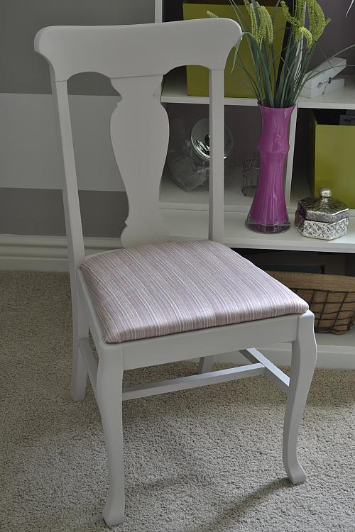 Office Chair ReDo with Chalky Finish Paint  Project by