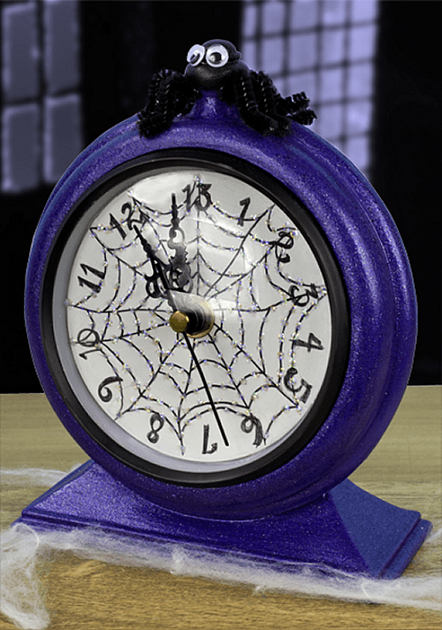 Thirteen OClock Halloween Clock  Project by DecoArt