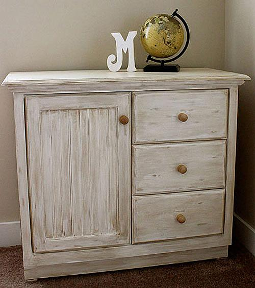 TimeWorn OnTrend Dresser  Project by DecoArt