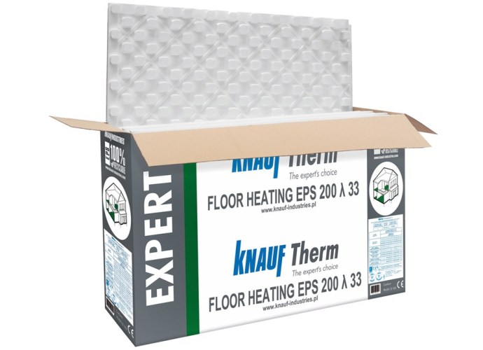 Styropian Knauf Therm Expert Floor Heating