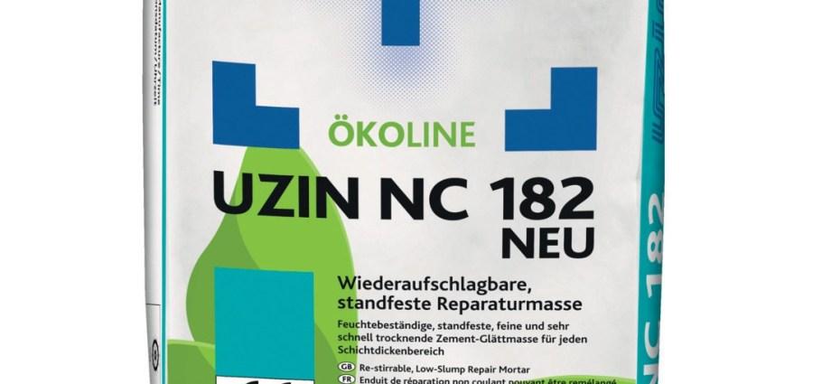 Akcja reaktywacja – nowa masa naprawcza UZIN NC 182 NEW