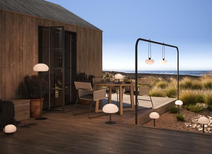 Mobilne lampy na balkon i do ogrodu
