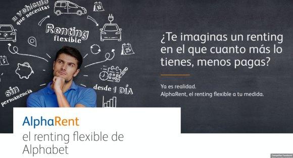 AlphaRent - Renting Flexible del grupo Alphabet